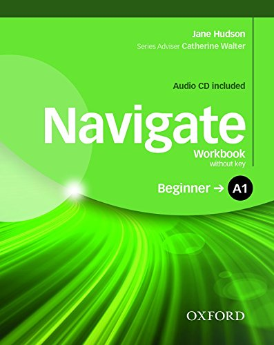 NAVIGATE BEGINNER Workbook without answers + Audio CD