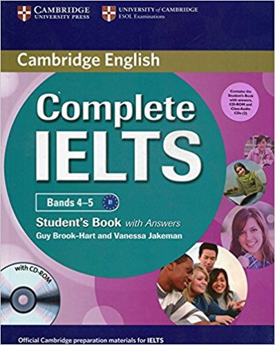 COMPLETE IELTS Bands 4-5 Student's Book with Answers + CD-ROM + Audio CD (x2)