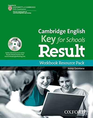 CAMBRIGE ENGLISH KEY FOR SCHOOLS RESULT Workbook without Answers+MultiROM+Webcode