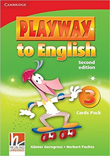 PLAYWAY TO ENGLISH 2nd ED 3 Cards Pack