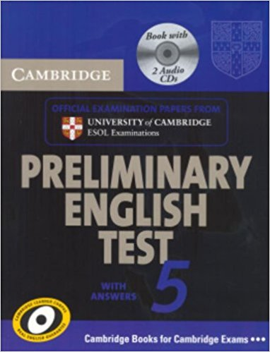 Cambridge PET 5 Self-Study Student's Book with answers + AudioCD