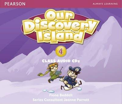 OUR DISCOVERY ISLAND 4 Class Audio CD (x3)