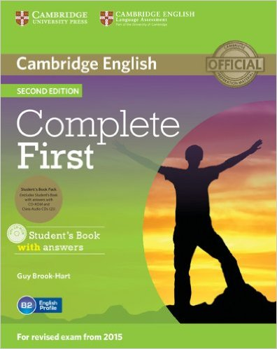 Complete First 2nd Ed Student's Pack (Student's Book with answers +CD-ROM+AudioCD)