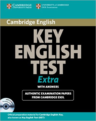 CAMBRIDGE KEY ENGLISH TEST EXTRA Student's Book with Answers + CD-ROM