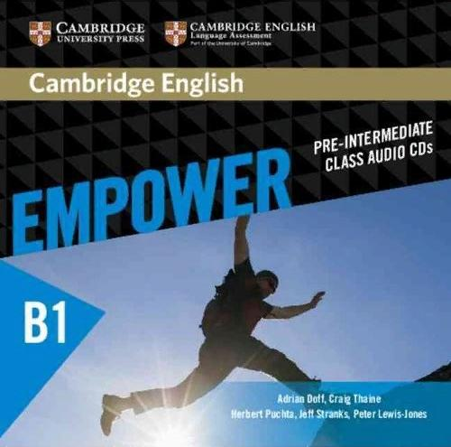CAMBRIDGE ENGLISH EMPOWER PRE-INTERMEDIATE Class Audio CD (x3)
