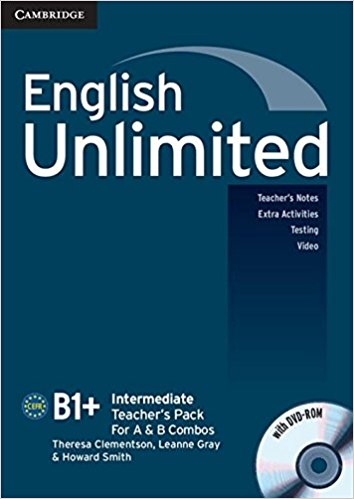 ENGLISH UNLIMITED INTERMEDIATE Teacher's Book  +DVD-ROM Pack