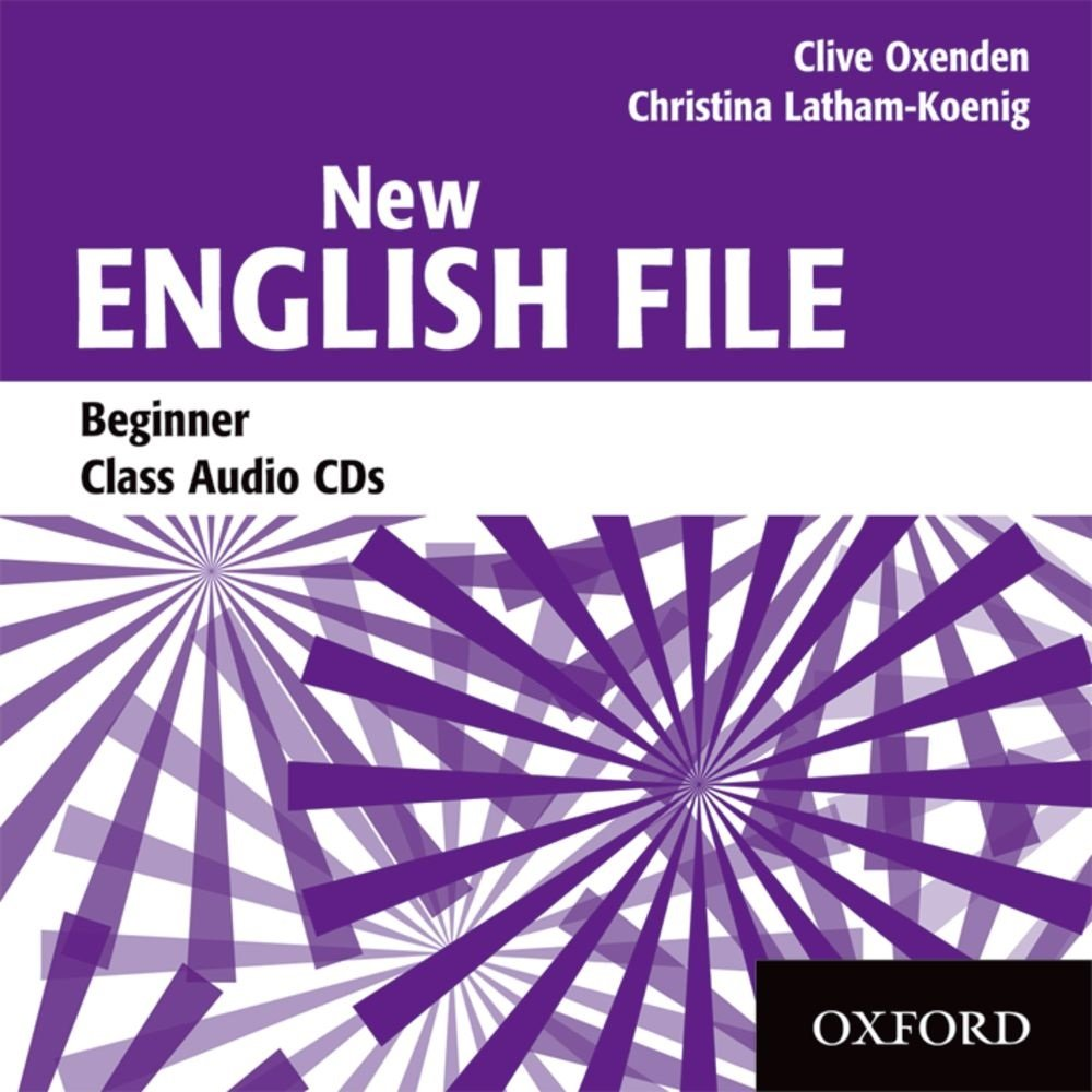 NEW ENGLISH FILE BEGINNER Audio CD