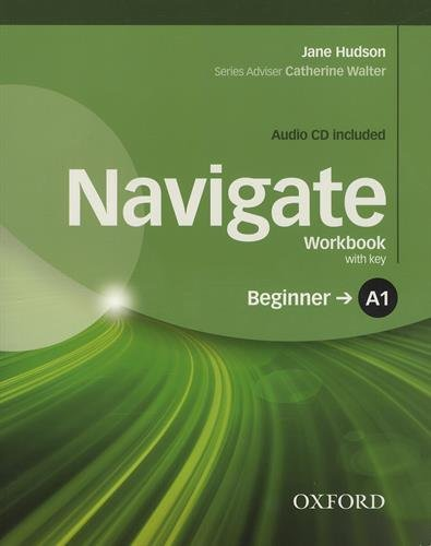 NAVIGATE BEGINNER Workbook with answers + Audio CD