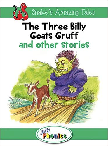 JOLLY PHONICS Paperback Readers, Level 3 Snake's Amazing Tales
