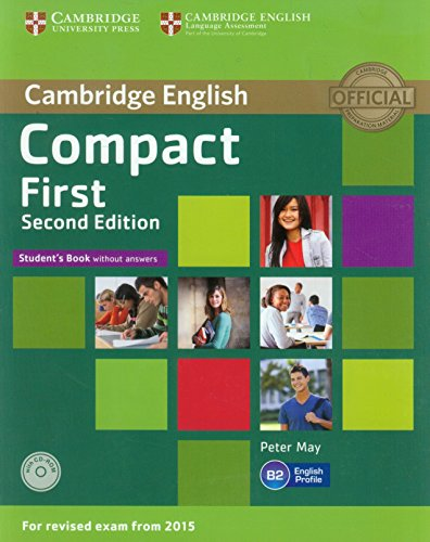 Compact First  2nd Ed Student's Pack (Student's Book without  answers +CD-ROM,Workbook without answers+AudioCD)