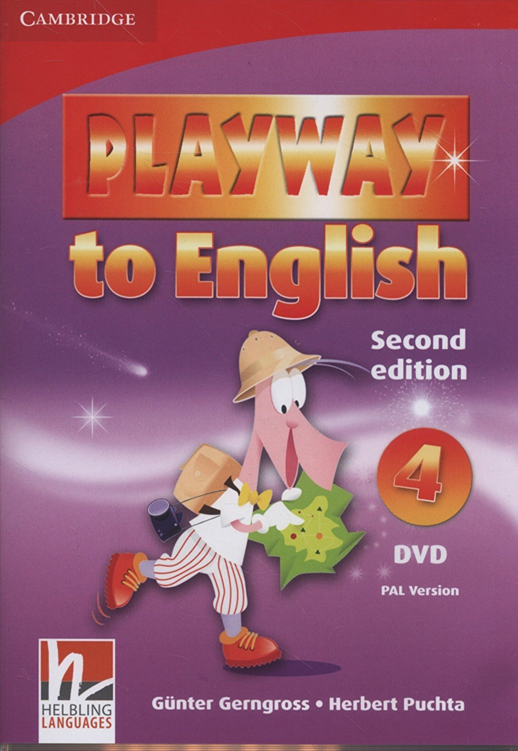 PLAYWAY TO ENGLISH 2 nd ED 4 DVD