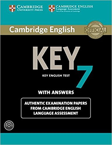 CAMBRIDGE ENGLISH KEY 7 Self-study Pack (Student's Book with Answers + Audio CD)