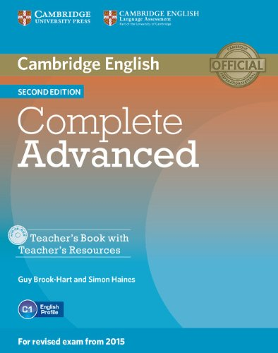 COMPLETE ADVANCED 2nd ED Teacher's Book + CD-ROM