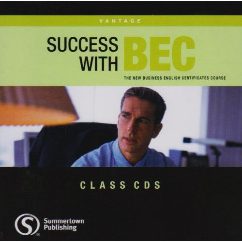 SUCCESS WITH BEC VANTAGE Class Audio CD