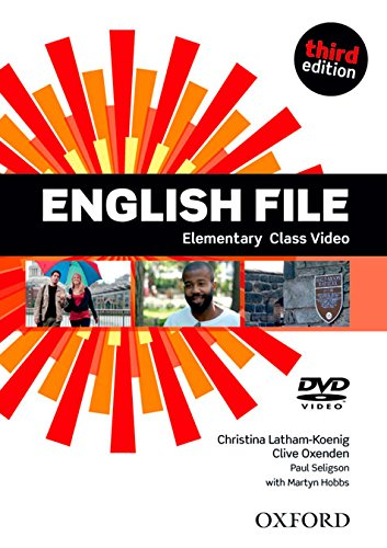 ENGLISH FILE ELEMENTARY 3rd ED DVD