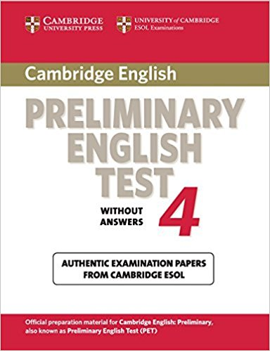Cambridge PET 4 Student's Book