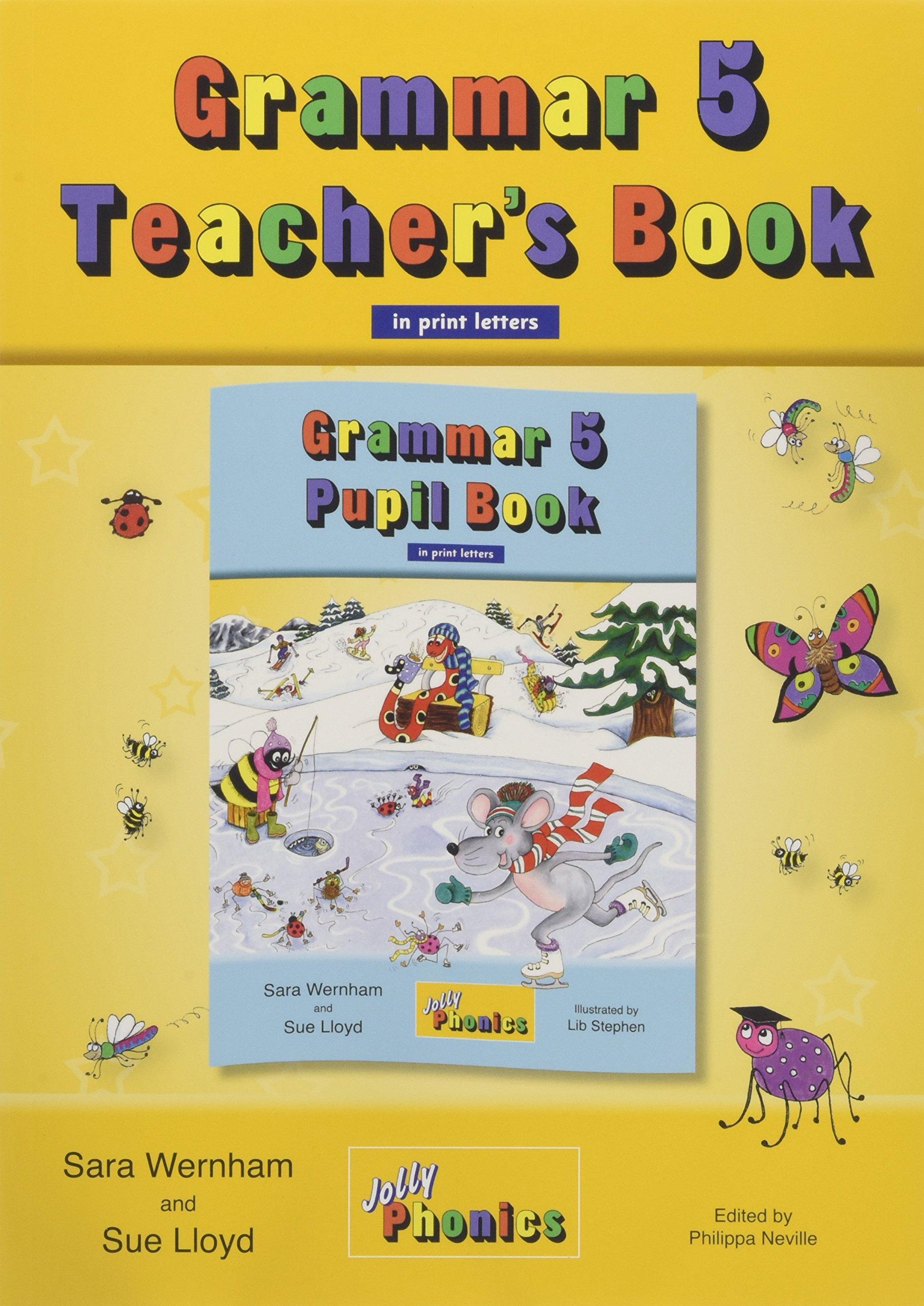 JOLLY GRAMMAR 5 Teachers Book (BE) print letters