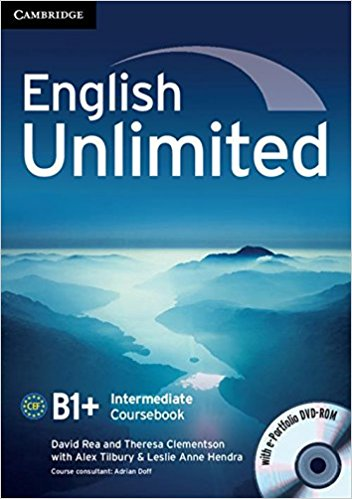 ENGLISH UNLIMITED INTERMEDIATE Coursebook + e-Portfolio
