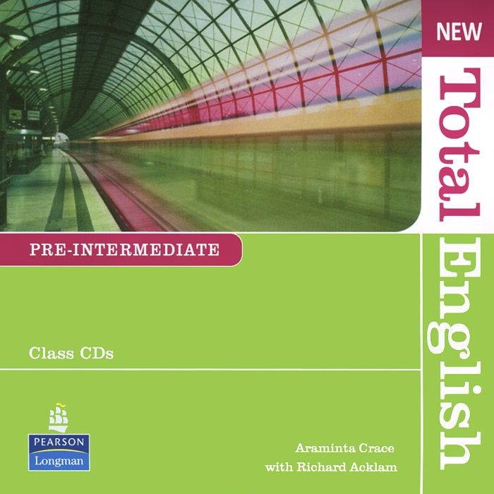 NEW TOTAL ENGLISH PRE-INTERMEDIATE Audio CD