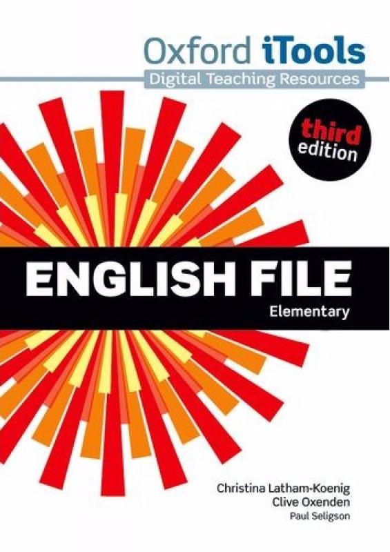 ENGLISH FILE ELEMENTARY 3rd ED iTools DVD-ROM