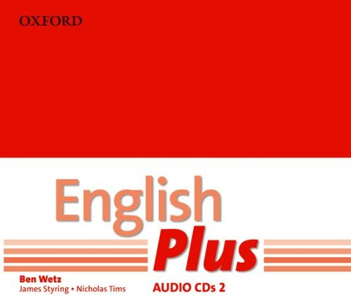 ENGLISH PLUS 2  Class Audio CD (x3)
