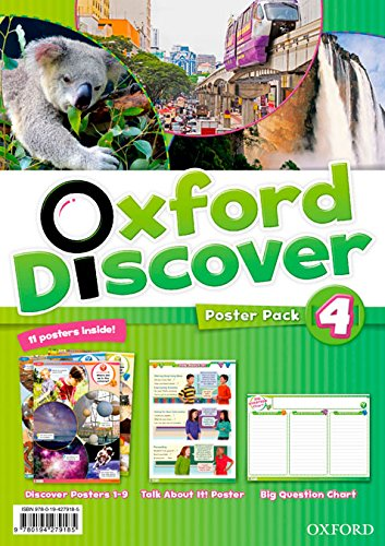 OXFORD DISCOVER 4 Posters