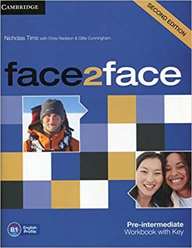 FACE 2 FACE PRE-INTERMEDIATE 2nd ED Workbook with answers