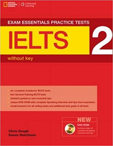 EXAM ESSENTIALS PRACTICE TESTS IELTS 2 Student's Book without Answers + DVD-ROM