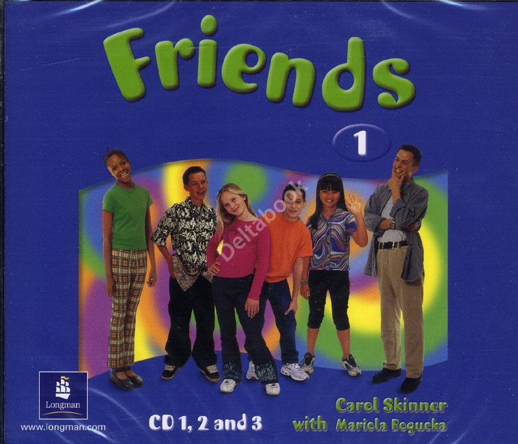 FRIENDS 1 Class Audio CD (x3)