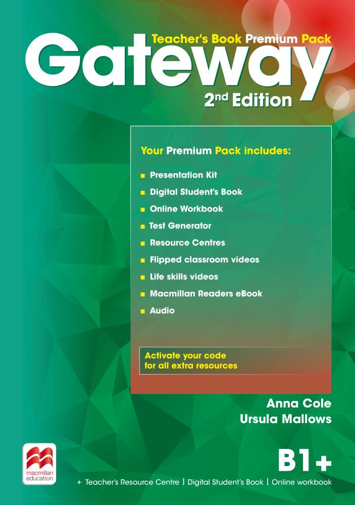 GATEWAY 2nd ED B1+Teacher's Book Premium Pack