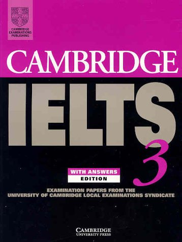 CAMBRIDGE IELTS 3 Student's Book with Answers + Audio CD