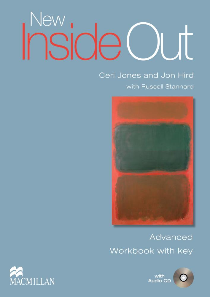 NEW INSIDE OUT Advanced Workbook with Key + Audio CD