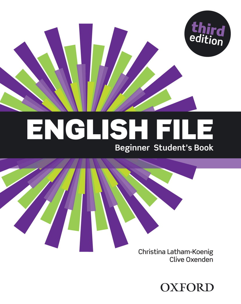 ENGLISH FILE BEGINNER 3rd ED Student's Book with iTutor Pack
