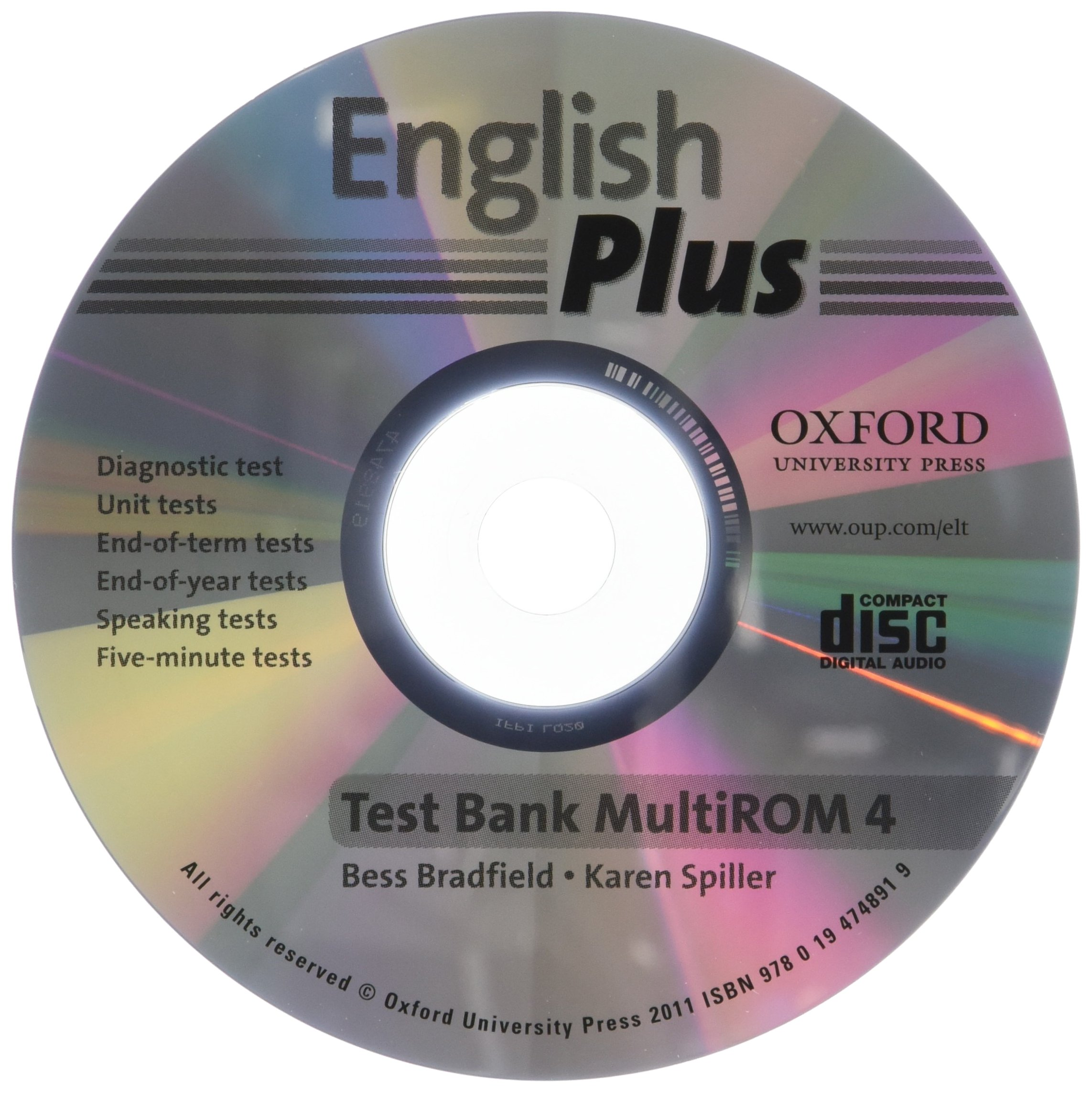 ENGLISH PLUS 4  TEST MULTIROM