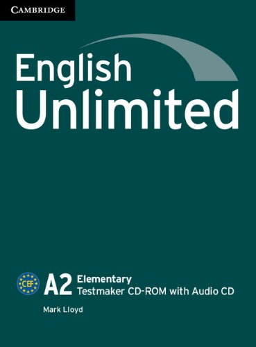 ENGLISH UNLIMITED ELEMENTARY Testmaker CD-ROM +Audio CD