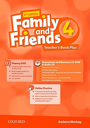 FAMILY AND FRIENDS 4 2nd ED Teacher's Book Pack