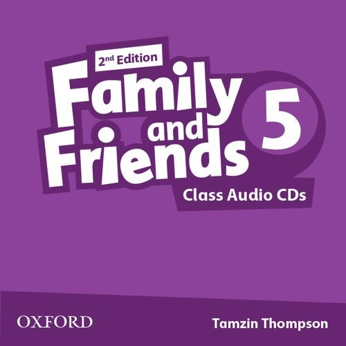 FAMILY AND FRIENDS 5 2nd ED Class Audio CD (x2)