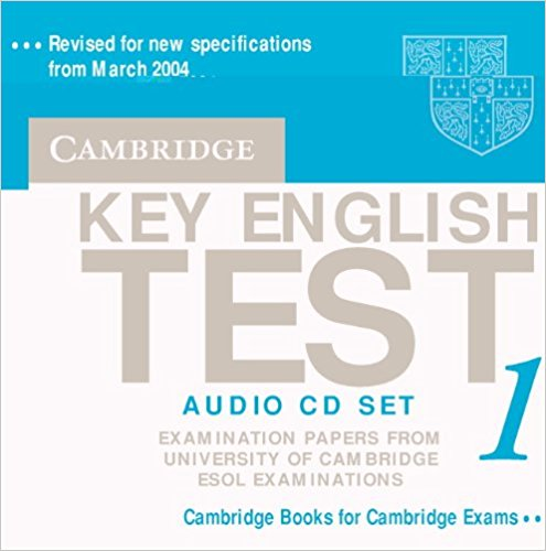 CAMBRIDGE KEY ENGLISH TEST 1 Audio CD (x2)