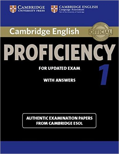 CAMBRIDGE ENGLISH PROFICIENCY 1 Student's Book with Answers