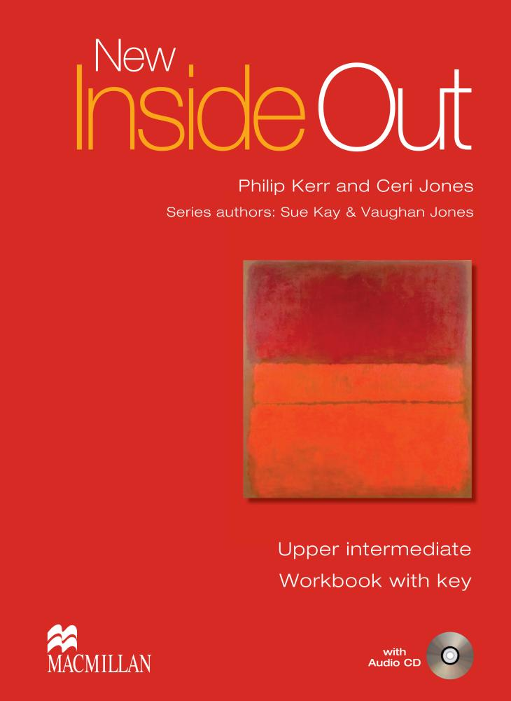 NEW INSIDE OUT Upper-Intermediate Workbook with Key + Audio CD