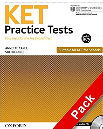 KET PRACTICE TESTS REV ED Practice Tests with Answers + Audio CD