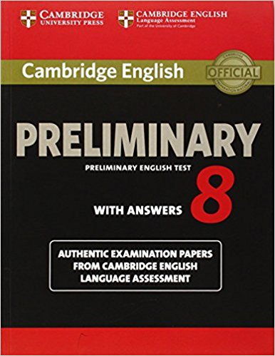 Cambridge PET 8 Student's Book with answers