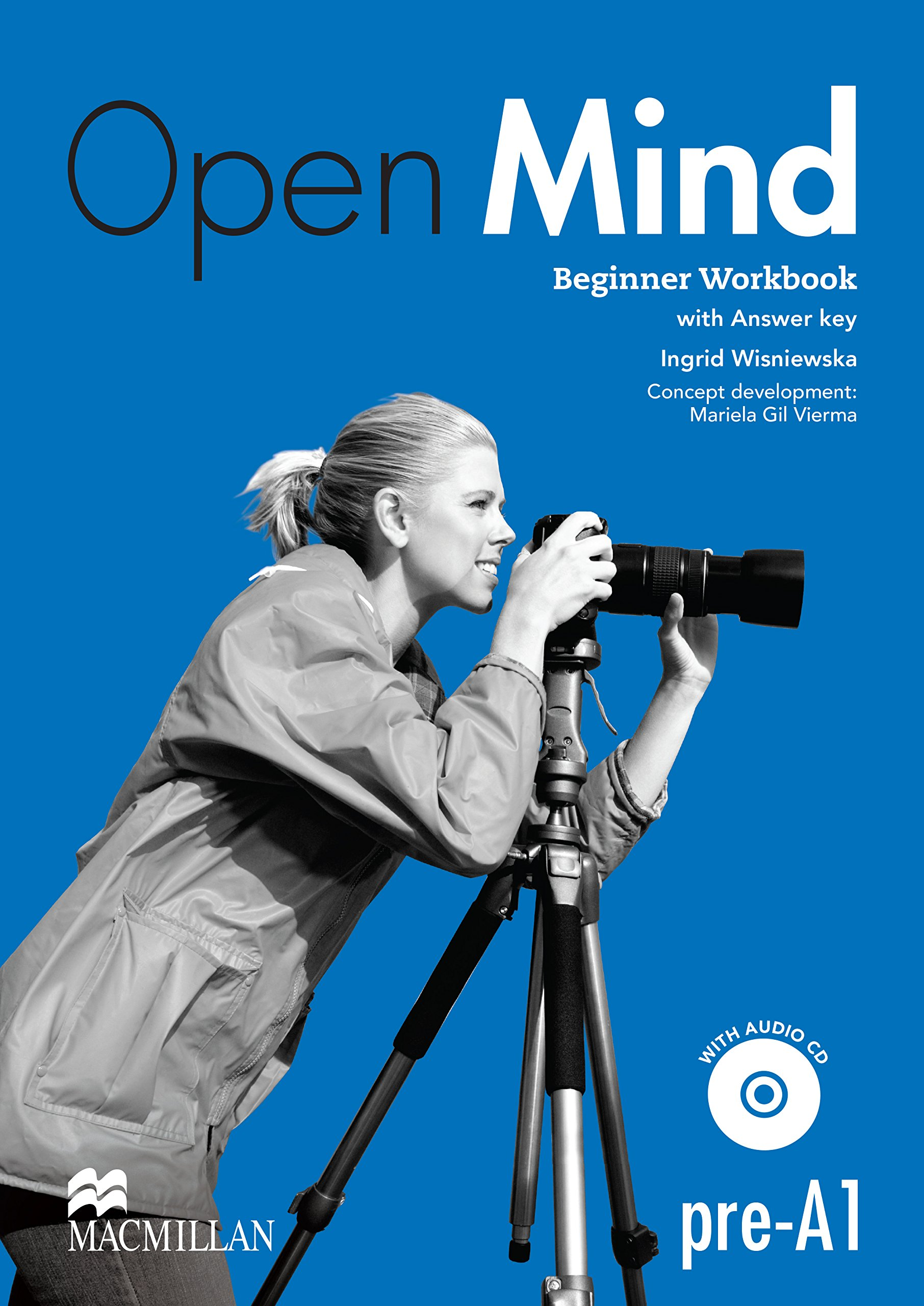 OPEN MIND BEGINNER Woorkbook with key +Audio CD