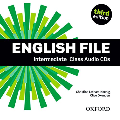 ENGLISH FILE INTERMEDIATE 3rd ED Audio CD