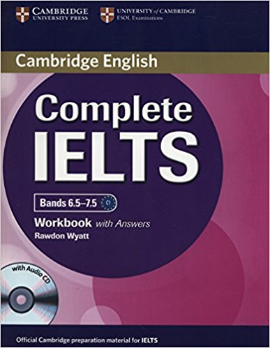 COMPLETE IELTS Bands 6.5-7.5 Workbook with Answers + Audio CD