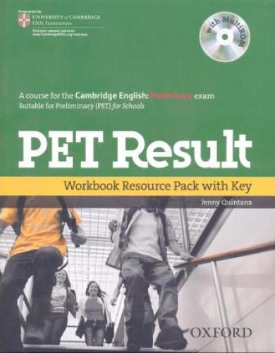 PET RESULT   Workbook with Key + Resource Pack