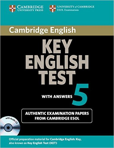 CAMBRIDGE KEY ENGLISH TEST 5  Self-study Pack (Student's Book with Answers + Audio CD)