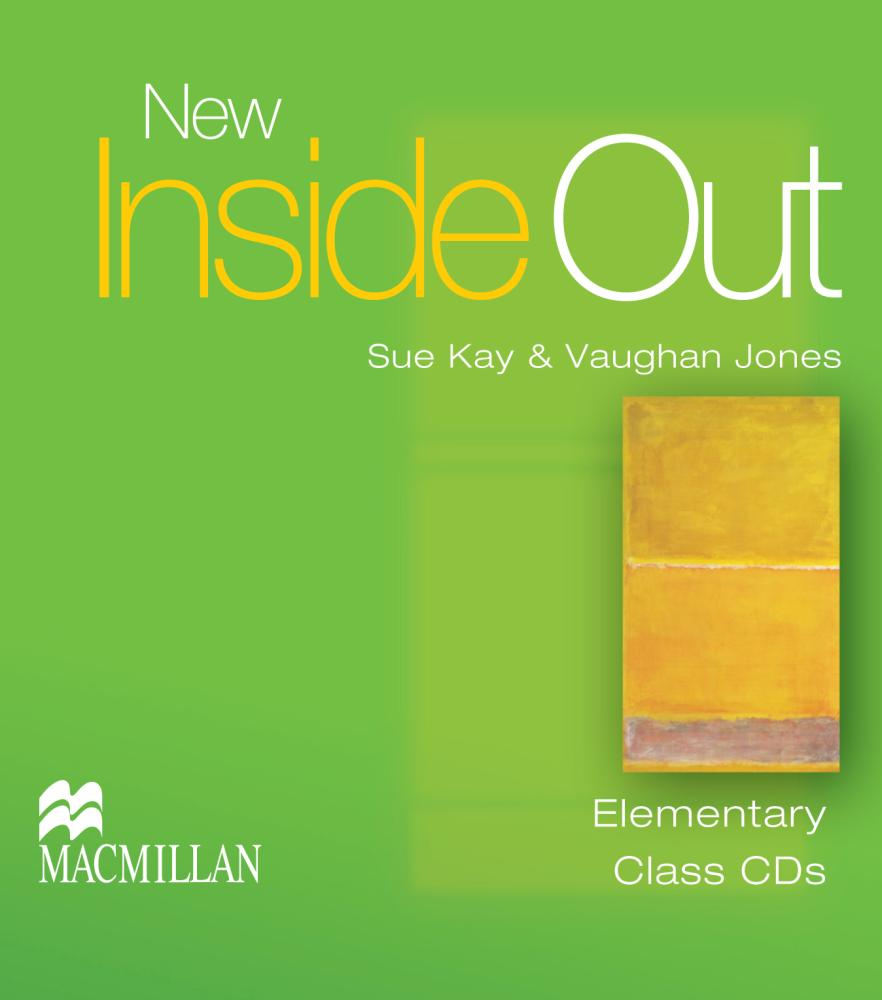 NEW INSIDE OUT Elementary Audio CD