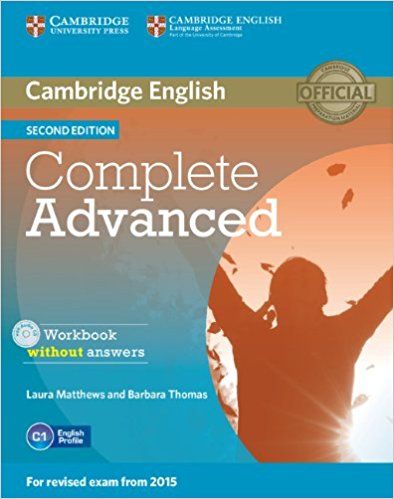 COMPLETE ADVANCED 2nd ED Workbook without Answers + Audio CD
