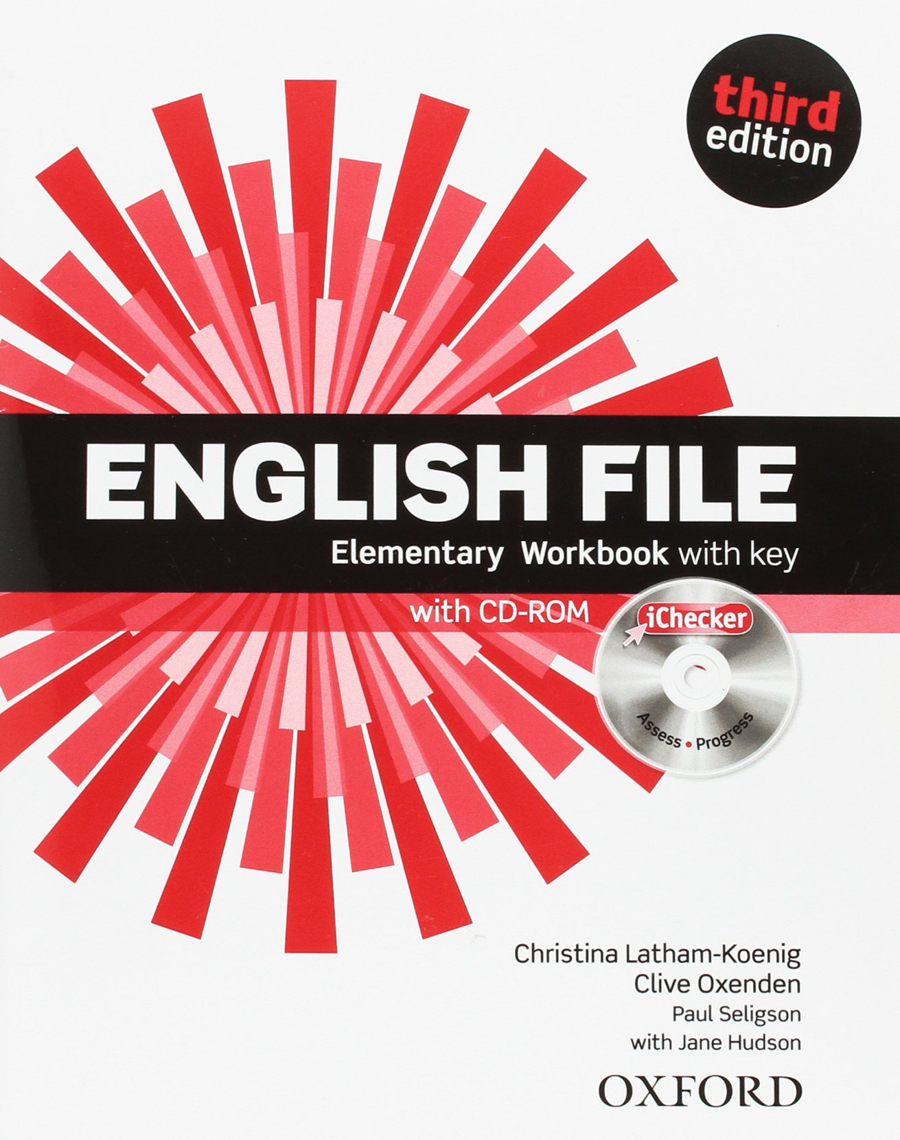 ENGLISH FILE ELEMENTARY 3rd ED Workbook with Key + iChecker